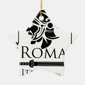 Roman Army - Legionary with Gladio Christmas Ornament