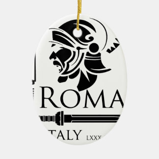 Roman Army - Legionary with Gladio Christmas Ornament