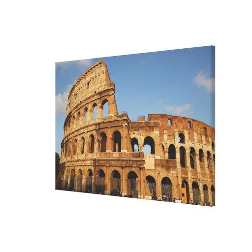 Roman Art. The Colosseum or Flavian 3 Canvas Print