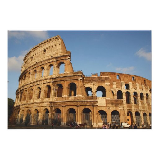 Roman Art. The Colosseum or Flavian 3 Photo Print