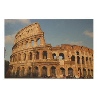 Roman Art. The Colosseum or Flavian 3 Wood Print