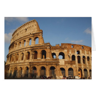 Roman Art. The Colosseum or Flavian 4 Card