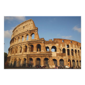 Roman Art. The Colosseum or Flavian 4 Photographic Print