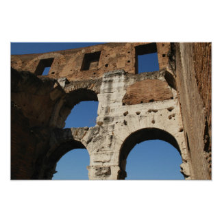 Roman Art. The Colosseum or Flavian 5 Poster