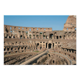 Roman Art. The Colosseum or Flavian 6 Photographic Print