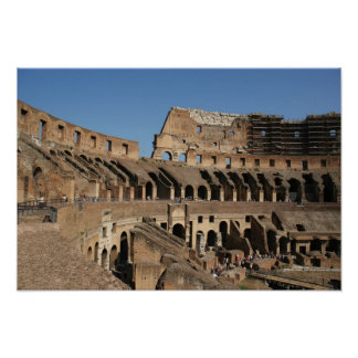 Roman Art. The Colosseum or Flavian 7 Poster