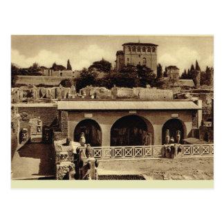 Roman artefacts postcard