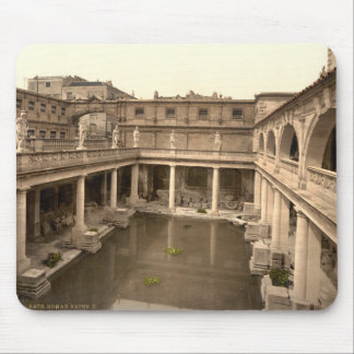 Roman Baths and Abbey II, Bath, Somerset, England Mouse Mat