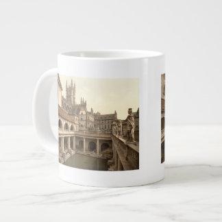 Roman Baths and Abbey, IV, Bath, England Large Coffee Mug