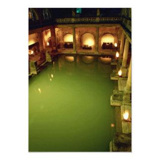 Roman Baths, Avon, England Custom Invitations