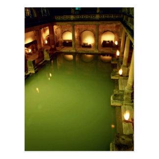 Roman Baths Avon England Postcard