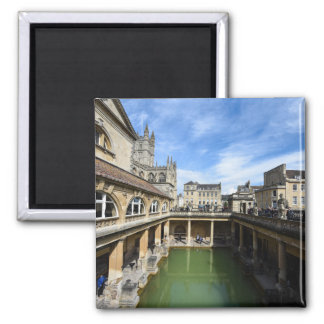 Roman Baths in Bath England Magnet
