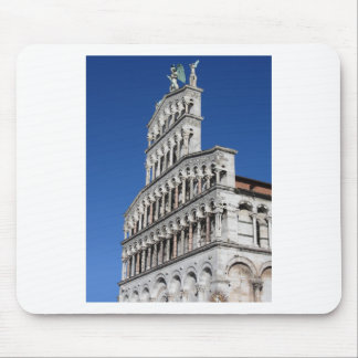 Roman Catholic basilica church in Lucca Mouse Pad
