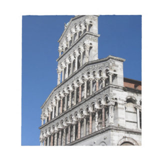 Roman Catholic basilica church in Lucca Notepad