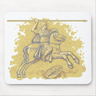 Roman cavalry Auxiliary.  Mousepad.
