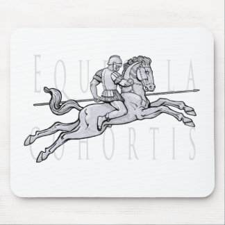 Roman cavalry charge. (Equites Ala Cohortis) Mouse Pad