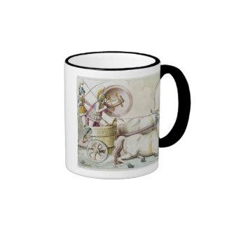 Roman Charioteers, from 'Costumi dei Romani', engr Coffee Mugs