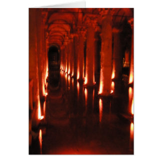 Roman Cistern Greeting Card