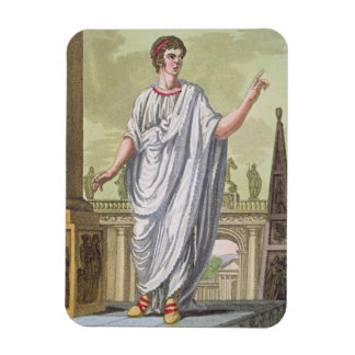 Roman Citizen Claiming Employment, from 'L'Antica Rectangular Photo Magnet