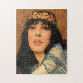 Roman Classical Woman, Vintage Style Jigsaw Puzzle