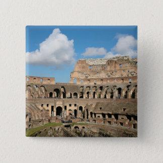 Roman Coliseum 2 15 Cm Square Badge