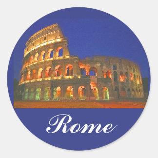 Roman Coliseum Classic Round Sticker