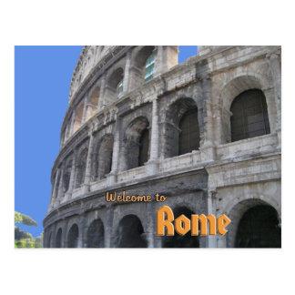 Roman Coliseum Post Card