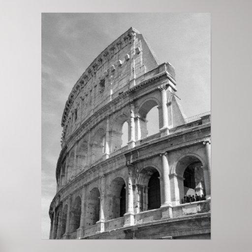 Roman Coliseum, Rome Italy Poster