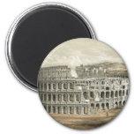 Roman Coliseum Vintage Art