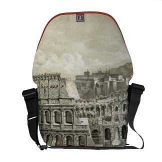 Roman Coliseum Vintage Art Commuter Bag