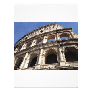 Roman Colosseum 21.5 Cm X 28 Cm Flyer
