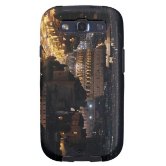 Roman Colosseum at night Samsung Galaxy SIII Cases