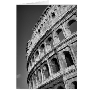 Roman Colosseum Card Greeting Cards