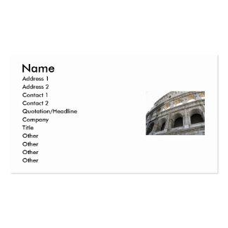 Roman Colosseum Colosseum Business Cards