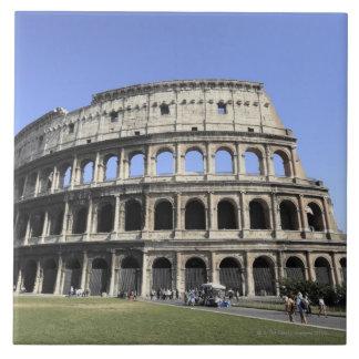 Roman Colosseum Lazio, Italy Large Square Tile