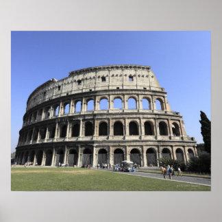Roman Colosseum Lazio, Italy Poster