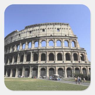 Roman Colosseum Lazio, Italy Square Sticker