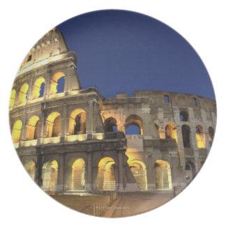 Roman Colosseum, Rome, Italy 2 Dinner Plates