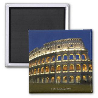 Roman Colosseum, Rome, Italy 3 Square Magnet
