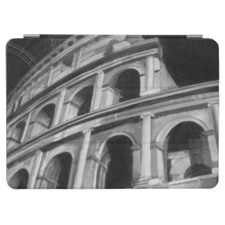Roman Colosseum with Architectural Drawings iPad Air Cover
