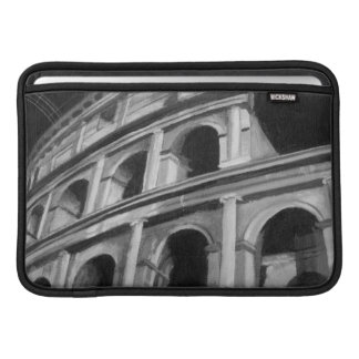 Roman Colosseum with Architectural Drawings Sleeve For MacBook Air