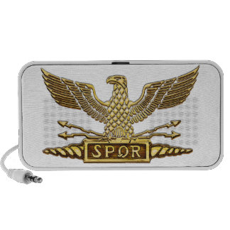 Roman Eagle Gold Speaker