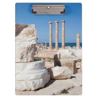 Roman Forum And Remains Of Statue, Sabratha, AZ Clipboard