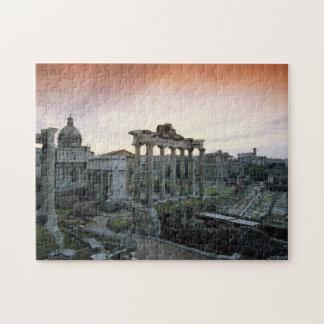 Roman Forum at dawn Jigsaw Puzzle
