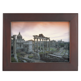 Roman Forum at dawn Keepsake Box
