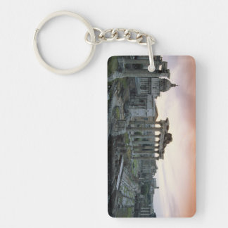 Roman Forum at dawn Key Ring