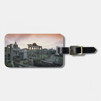 Roman Forum at dawn Luggage Tag