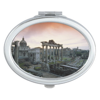 Roman Forum at dawn Vanity Mirror