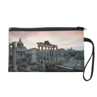 Roman Forum at dawn Wristlet Purse