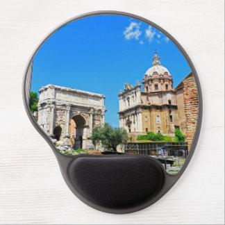 Roman forum gel mouse pad